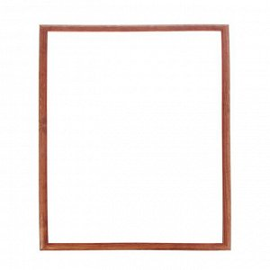 Рама для картин (зеркал) 50 х 70 х 2.6 см, дерево, Berta цвет орех