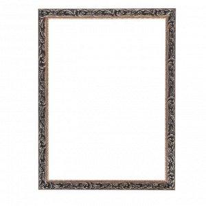 Рама для картин (зеркал) 50 х 70 х 4 см. дерево. «Версаль». цвет золотой