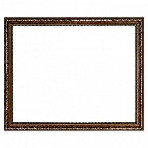 Рама для картин (зеркал) 40 х 50 х 3.3 см. пластиковая. Dorothy коричневая