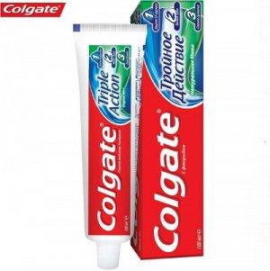 COLGATE (КОЛГЕЙТ) Зубная паста Тройное Действие 50 мл.