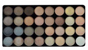 PARISA Набор PK-40 №02 (тени + румяна + пудра) перламутр натурально - коричнево - серый микс