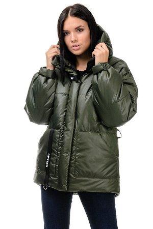 Зимняя куртка «Джемма», 44-50, арт.249 хаки