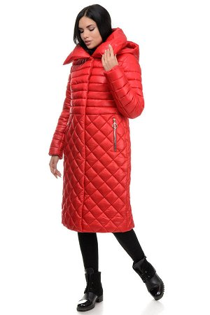 Пальто «Полли», 44-50, арт.261 красный