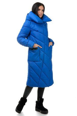 Пальто «Тильда», 44-50, арт.258 электрик