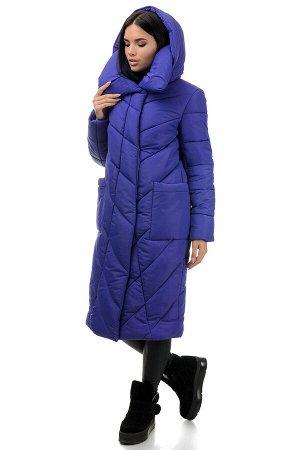 Пальто «Тильда», 44-50, арт.258 фиолетовый
