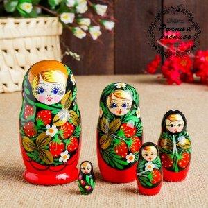 """Матрёшка """"Хохломская"""", 5 кукольная"""
