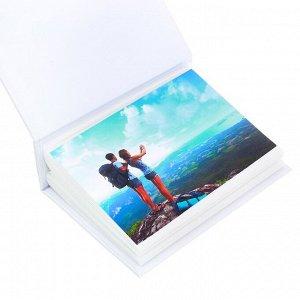 """Фотоальбом в твёрдой обложке """"Семейный фотоальбом"""", 100 фото"""
