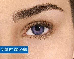 Перекрывающие цветные контактные линзы FreshLook Colors 2 линзы