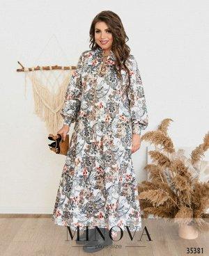 Платье №143-1-белый