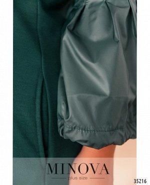 Платье №1718-1-морская волна
