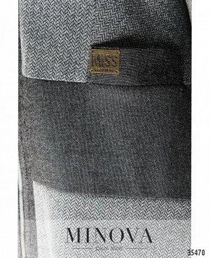 Платье №459-1-серый