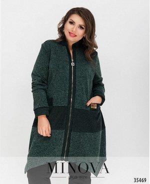 Платье №459-1-зеленый