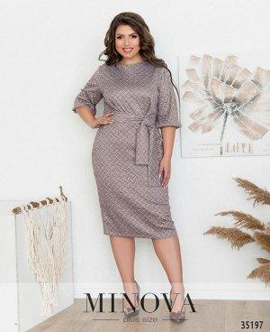 Платье №492А-бордо