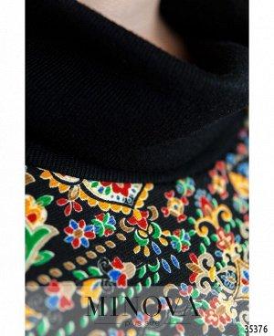 Платье №1722-черный