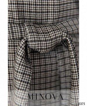 Платье №1724-серый