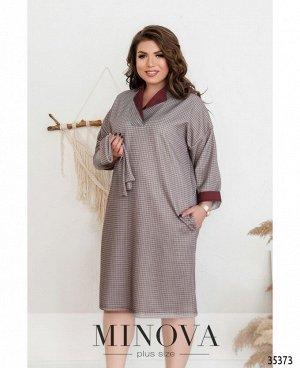 Платье №1724-бордо