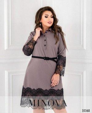 Платье №1723-1-фреза