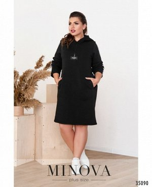 Платье №136-2-черный