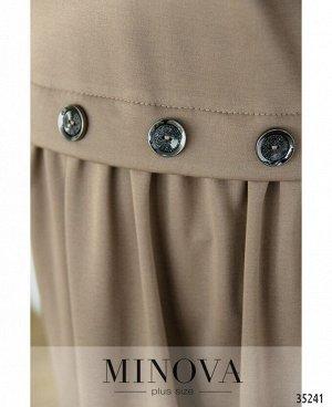 Платье №101-01-мокко
