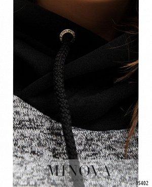 Платье №17-179-черный