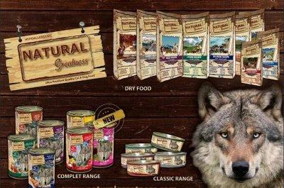 Премиум корма + Наполнители, смываемые в унитаз! — Natural Greatness (ИСПАНИЯ) - Собаки — Корма