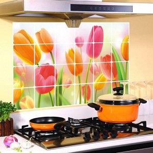 Термостойкая наклейка для кухни фольгированная в ассортименте