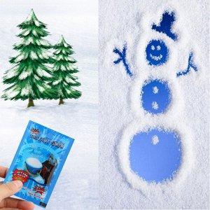 Искусственный снег из влагопоглощающего порошка (упаковка 8 г)