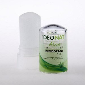 Дезодорант DeoNat с экстрактом Алоэ,стик 60 гр.
