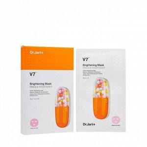 Dr.JART + V7 Brightening Mask Витаминизированная выравнивающая тон маска
