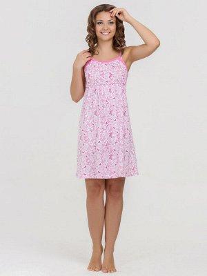 Сорочка Jane розовый  (100% хлопок)