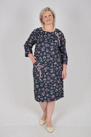 Платье Лика (футер-джинс, расцветка 1)