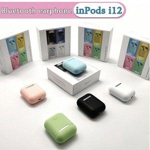 Беспроводные наушники inPods 12 Simple TWS V5.0