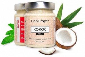 DopDrops Протеиновая арахисовая паста с кокосом  (265 гр.)