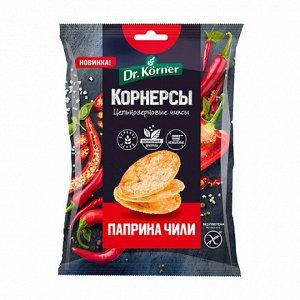Dr. Korner Чипсы цельнозерновые кукурузно-рисовые (50 гр.)