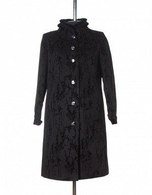 Утепленное пальто женское