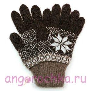 Мужские шерстяные перчатки - 400.14