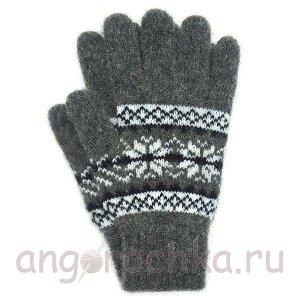 Теплые шерстяные перчатки - 400.155