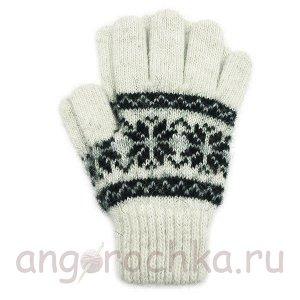 Шерстяные перчатки для мальчиков и девочек - 410.7