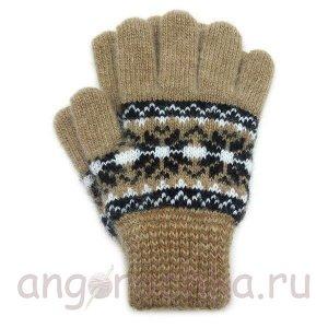 Теплые детские перчатки - 410.6