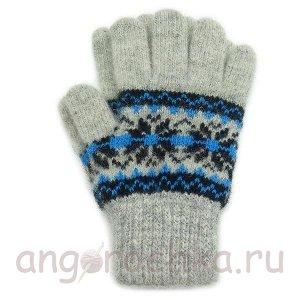 Нарядные детские перчатки - 410.5