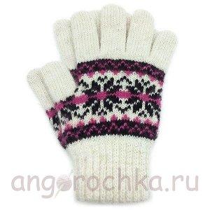 Детские шерстяные перчатки - 410.1