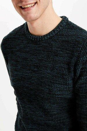 Джемпер темно-зеленый