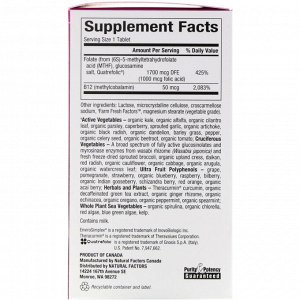 Natural Factors, BioCoenzymated, Methylfolate, 1,000 mcg, 60 Quick Melt Tablets