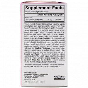 Natural Factors, BioCoenzymated, B2, рибофлавин 5&#x27 - -фосфат, 50 мг, 30 вегетарианских капсул
