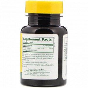 Nature&#x27 - s Plus, Фолиевая кислота, 800 мкг, 90 таблеток