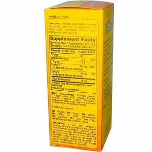 American Health, Ester-C Liquid, с цитрусовыми биофлавоноидами, со вкусом ягод, 250 мг, 237 мл (8 жидких унций)