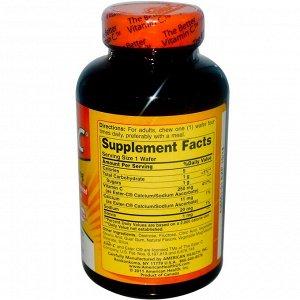 American Health, Ester-C, со вкусом апельсина, 250 мг, 125 жевательных пастилок