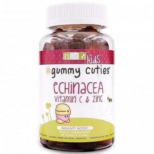 Natural Dynamix (NDX),  - Жевательные милашки -  с эхинацеей, витамином C и цинком, для детей, 60 штук
