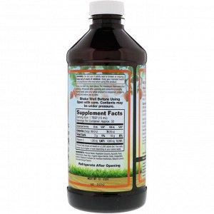 Dynamic Health Laboratories, Жидкий витамин С, натуральные ароматизаторы со вкусом цитрусовых, 1000 мг, 473 мл (16 жидк. унций)