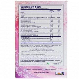 Now Foods, Effer-C, шипучий растворимый напиток, бузина, 30 пакетиков по 5,5 г